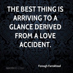 THE BEST THING IS 