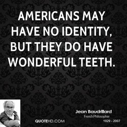 AMERICANS MAY 