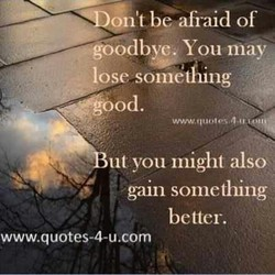 be afraid of 