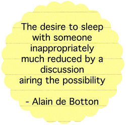 The desire to sleep 