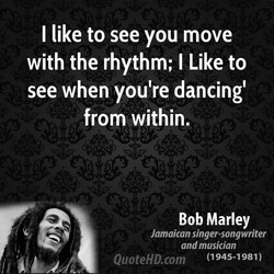 I like to see you move 