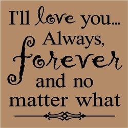I'll you... 