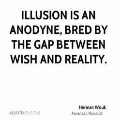 ILLUSION IS AN 