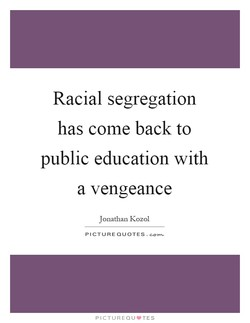 Racial segregation 