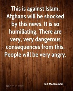 This is against Islam. 