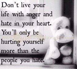 Don't live your 