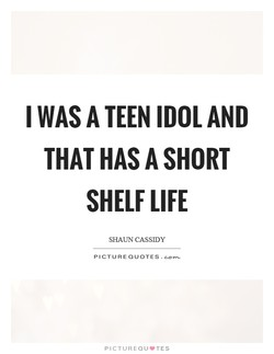 I WAS TEEN AND 