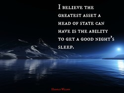 I BELIEVE THE 