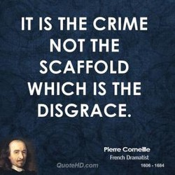 IT IS THE CRIME 