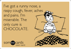 I've got a unny nose, a 