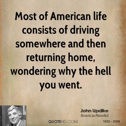 Most of American life 