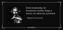 Drink moderately, for 