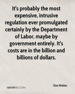 It's probably the most 