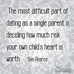 The most difficult part of 
