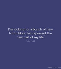 I'm looking for a bunch of new 