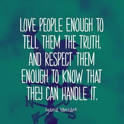 LOVE PEOPLE ENOUGH TO 