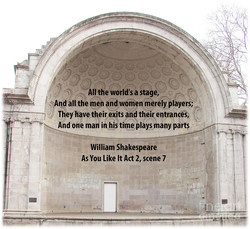 All the world's a stage, 