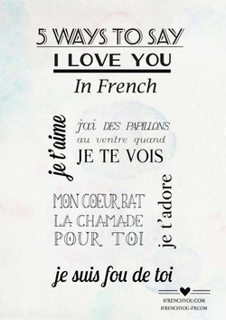 5 WAYS TO SAY 