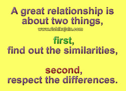 A great relationship is 