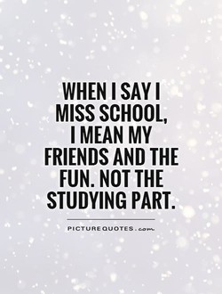 WHEN I SAY I 