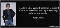 I consider a CD or a comedy collection as a record 