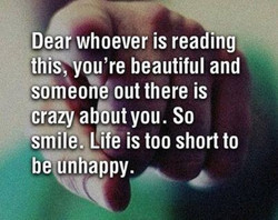 Dear whoever is reading 