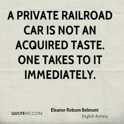 A PRIVATE RAILROAD 