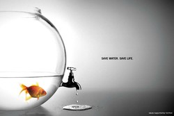 SAVE WATER. SAVE LIFE.