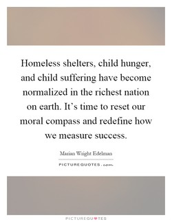 Homeless shelters, child hunger, 