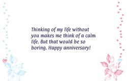 Thinking of my life without 