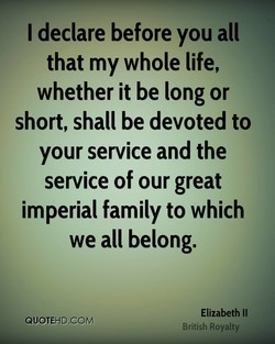 I declare before you all 