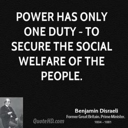 POWER HAS ONLY 
