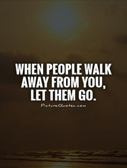 WHEN PEOPLE WALK 