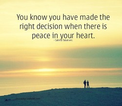 You know you have made the 