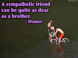 A sympathetic friend 