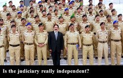 Is the judiciary really independent?