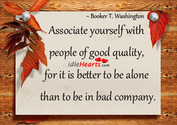 — Booker T. Washington 