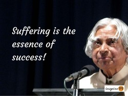 Suffering is the 