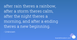 after rain theres a rainbow, 