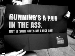 RUNNING'S A 