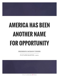 AMERICA HAS BEEN 