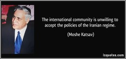 The international community is unwilling to 