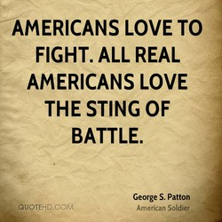 AMERICANS LOVE TO 