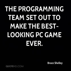 THE PROGRAMMING 