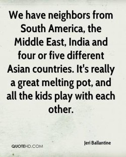 We have neighbors from 