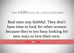 THE #490 RULE OF A RELATIONSHIP 