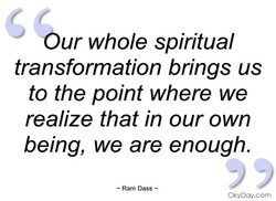 Our whole spiritual 