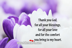 Thankyou God, 