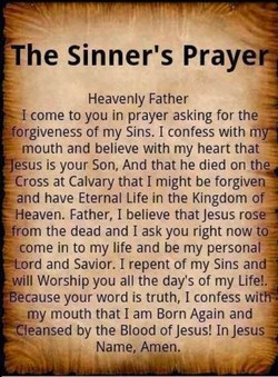The Sinner's Praye 
