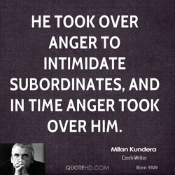HE TOOK OVER 